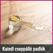 Cseppálló laminált padló - Kaindl