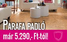 Parafa padló